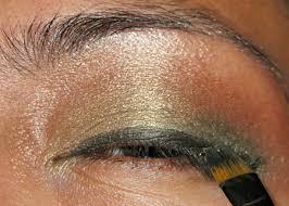 mac golden olive pigment tutorial a