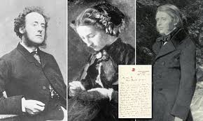 Letters revealing Victorian love triangle involving Effie Gray go on sale    Daily Mail Online