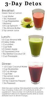 diy detox drink smoothie recipes for
