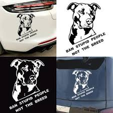 Buy Pitbull Bumper Sticker At Affordable Price From 3 Usd Best Prices Fast And Free Shipping Joom