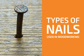 9 types of nails monly used in