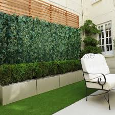 Amazon Com Patio Paradise 39 X 156 Faux Ivy Privacy Fence Screen With Mesh Back Artificial Leaf Vine Hedge Outdoo Backyard Outdoor Backdrops Backyard Decor
