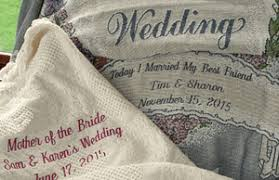 personalized wedding gifts embroidered