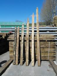 8ft X 4 X 3 Pointed Treated Larch Rectangular Stob James Smith Fencing