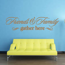 Friends Family Wall Decal Style And Apply