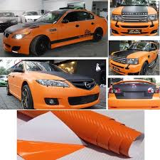 3d Multipurpose Carbon Fiber Car Stickers Car Hood Preferred Orange Car Decals Decorations Decal Water Transfer Paper Stickers Pacmandecal Paper For Ceramics Aliexpress