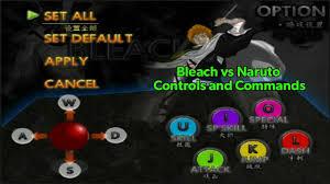 Bleach vs Naruto Guide