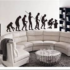 Wall Decal Human Evolution House Room Vinyl Decal Art Diy Wall Sticker Mural Living Room Parlour Wall Paper Adesivo Arvore S 42 Adesivo Arvore Wall Stickersticker Mural Aliexpress