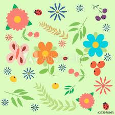 hippie wallpaper with funny erflies