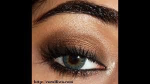 bronze smokey eye makeup you saubhaya