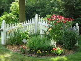 Douggreensgarden Small Garden Fence Fence Landscaping Picket Fence Garden