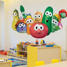 Veggietales Wall Graphics And Banners For Any Church Ministry To Children