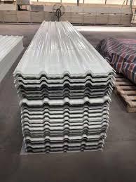 sheet waved transpa corrugated shed