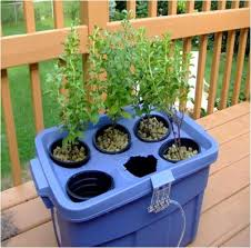 homemade hydroponic watering system