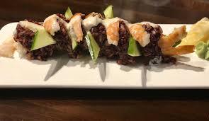 Black Tiger Roll : sushi