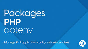 php packages dotenv manage php