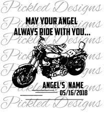 Decal In Loving Memory Motorcycle Loss Svg Sticker Artwork Etsy In 2020 In Loving Memory Memories How To Memorize Things