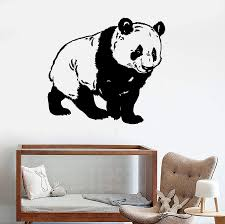 Vinyl Wall Decal Cute Panda Bear Kids Room Animal Stickers Mural Uniqu Wallstickers4you
