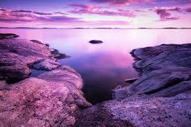بحيرة خلفية الحجارة المناظر الطبيعية الشاطئ الغيوم Hd