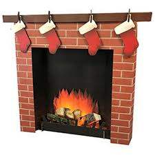 Advanced Graphics 2569 45 X 50 X 6 In 3d Fireplace Wall Decal 82033025694 Ebay