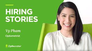 Hiring Stories   Vy Pham, Optometrist - YouTube
