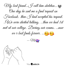 my best friend i call h quotes writings by sonali