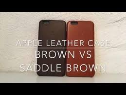iphone 6s plus leather case brown vs