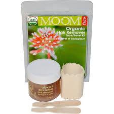 moom wax organic hair remover face