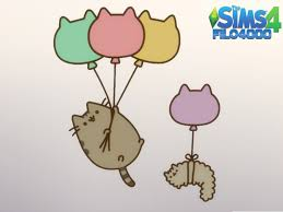 Pusheen The Cat 4 Decals The Sims 4 Catalog