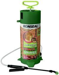 Ronseal Rslppfs Ppfs Precision Pump Fence Sprayer Green Amazon Co Uk Diy Tools