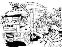 Zwarte Piet Kleurplaat 41405 Kleurplaat