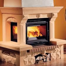wood burning fireplace insert tertio