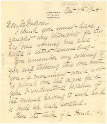 Letter from Ada Young to W. E. B. Du Bois, October 7, 1924