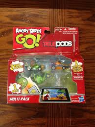 NEW Angry Birds Go Telepods Multi-Pack Exclusive Orange Kart Set ...