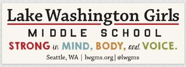 Lwgms Car Decal Lake Washington Girls Middle School