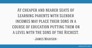 at cheaper and nearer seats of learning parents slender