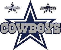 Amazon Com Dallas Star Stickers Team Colors Any Size Dallas Cowboy Stickers Decal Vinyl For Car Bamper Hemlet Laptop Tumblers Kitchen Dining