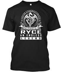 ryce name shirts s teespring