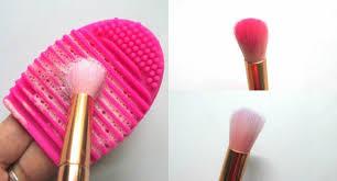 how to clean makeup brushes with shoo