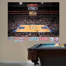 Philadelphia 76ers Arena Mural Wall Mural Allposters Com