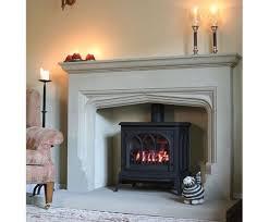 dovedale fireplace in sandstone
