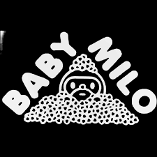 Bape Baby Milo Hearts Skateboard Decal Sticker