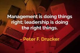 kata kata bijak peter drucker manajemen dan kepemimpinan words
