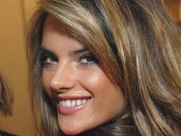 beautiful smiling face of alessandra