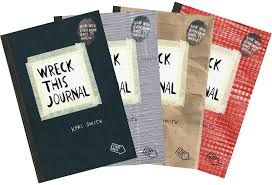 Wreck This Journal' by Keri Smith — Tools and Toys
