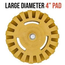 Power Tool Parts Accessories Abrasive Wheels Discs Pinstripes 4 Inch Rubber Power Drill Attachment Stickers Double Side Adhesive Car Decal Remover For Vinyl Decals Decal Removal Eraser Wheel Tool Kit