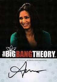 Big Bang Theory Season 3 & 4 Aarti Mann as Priya Koothrappali A8 ...