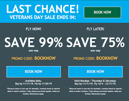 frontier flights with this veterans day