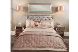 boutique rene rose gold duvet set