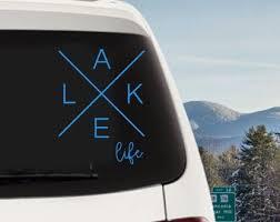 Lake Life Decal Etsy